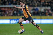 Robert Snodgrass (Hull City) during the Sky Bet Championship match between Hull City and Nottingham Forest at the KC Stadium, Kingston upon Hull, England on 15 March 2016. Photo by Mark P Doherty.