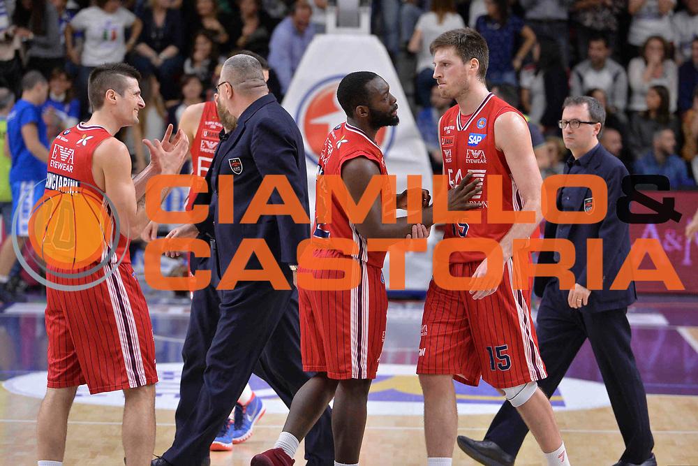 SASSARI 04 MAGGIO 2016<br /> LEGABASKET SERIE A<br /> Dinamo Banco di Sardegna Sassari - Olimpia EA7 Emporio Armani Milano<br /> NELLA FOTO Daniele Magro<br /> FOTO CIAMILLO