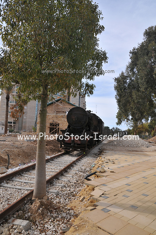 The old Ottoman train and station in Beer Sheva, Israel