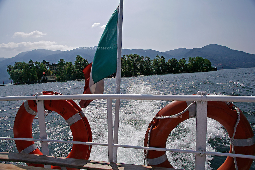 Svizzera, Isole di Brissago........Switzerland,  Canton Ticino,  Brissago islands Lake Maggiore and its valleys are alpine landscapes that merge into typically Mediterranean scenery, where popular traditions are combined with internationally renowned events, and villages, in which time seems to have stood still, peep down from their lofty peaks on towns that are looking to the future. Fascinating contrasts that make this a unique region