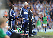 Ipswich Town manager Mick McCarthy during the Sky Bet Championship match between Ipswich Town and Brighton and Hove Albion at Portman Road, Ipswich, England on 29 August 2015.