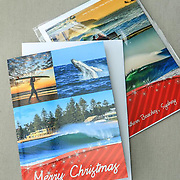 Merry Christmas Breaching Whale Card