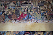 last supper meal, Vatican museum