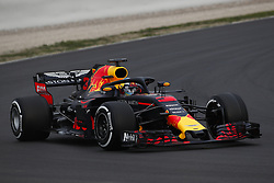 February 26, 2018 - Barcelona, Catalonia, Spain - February 26, 2018 - Circuit de Barcelona-Catalunya, Montmelo, Spain - Formula One preseason 2018; Daniel RICCIARDO from Australia of RedBull Racing, Red Bull RB14, TAG-Heuer F1 engine. (Credit Image: © Eric Alonso via ZUMA Wire)