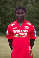 20150626 - OOSTENDE, BELGIUM: Oostende's Elimane Coulibaly pictured during the 2015-2016 season photo shoot of Belgian first league soccer team KV Oostende, Friday 26 June 2015 in Oostende. BELGA PHOTO KURT DESPLENTER