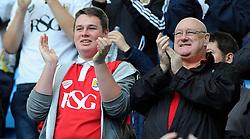 Bristol City fans    - Photo mandatory by-line: Joe Meredith/JMP - Mobile: 07966 386802 - 18/10/2014 - SPORT - Football - Coventry - Ricoh Arena - Bristol City v Coventry City - Sky Bet League One
