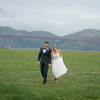 San Francisco Wedding Photography San Francisco Wedding at the Golden Gate Club in the Presidio - Portraits at Crissy Field and the Woodlands