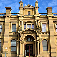 1902 Custom House in Hobart, Australia<br />