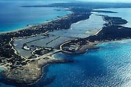 Espa&ntilde;a. Islas Baleares. Formentera. Vista a&eacute;rea de las salinas.<br /> <br /> &copy; JOAN COSTA