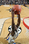 NASHVILLE, TN - FEBRUARY 11: Festus Ezeli #3 of the Vanderbilt Commodores dunks against the Kentucky Wildcats at Memorial Gymnasium on February 11, 2012 in Nashville, Tennessee. Kentucky won 69-63. (Photo by Joe Robbins) *** Local Caption *** Festus Ezeli