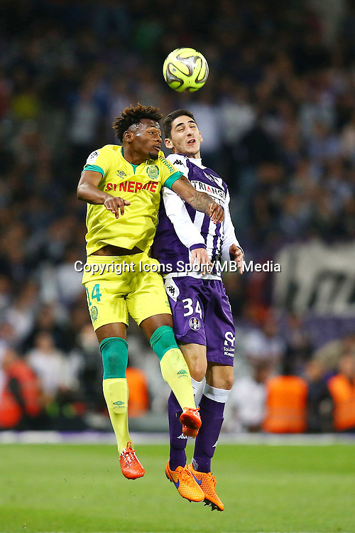 Yann Bodiger - 25.04.2015 - Toulouse / Nantes - 34eme journee de Ligue 1<br />