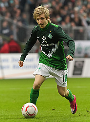 13.11.2010, Weserstadion, Bremen, GER, 1. FBL, Werder Bremen vs Eintracht Frankfurt, im Bild Marko Marin (Bremen #10)   EXPA Pictures © 2010, PhotoCredit: EXPA/ nph/  Frisch+++++ ATTENTION - OUT OF GER +++++