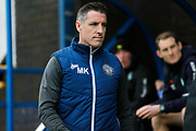 Mark Kennedy before the EFL Sky Bet League 2 match between Macclesfield Town and Forest Green Rovers at Moss Rose, Macclesfield, United Kingdom on 25 January 2020.