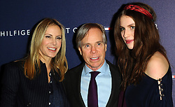 Dee,Ocleppo,Tommy Hilfiger and Tali Lennox at the opening of the new Tommy Hilfiger store on in London on Thursday 1st December 2011. Photo by: i-Images