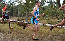 31-12-2014 NED: Rabobank Sylvestercross, Soest<br /> Khalid Choukoud is voor de tweede keer winnaar geworden van de Sylvestercross in Soest. Roman Romarenko (L), de kampioen van Oekraïne, finishte op dertien seconden als tweede en de Belg Soufiane Bouchiki (R) eindigde op twintig seconden als derde.