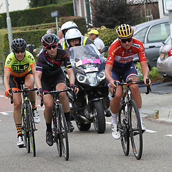 02-09-2017: Wielrennen: Boels Ladies Tour: Vaals: Chantal Blaak: Alexis Ryan: Romy Kasper