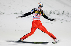 Mitja Meznar of Slovenia competes during Final round of the FIS Ski Jumping World Cup event of the 58th Four Hills ski jumping tournament, on January 6, 2010 in Bischofshofen, Austria. (Photo by Vid Ponikvar / Sportida)