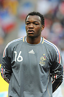 FOOTBALL - FRIENDLY GAME 2010 - FRANCE v COSTA RICA - 26/05/2010 - PHOTO FRANCK FAUGERE / DPPI - STEVE MANDANDA (FRA)