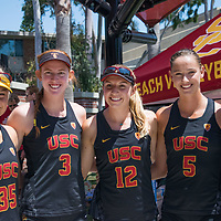 Rachel Bennett | USC Beach Volleyball 2017 | UCLA