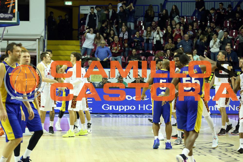 Umana Venezia<br /> Umana Reyer Venzia vs BK Venspils<br /> Basketball Champions League 2016/2017<br /> Venezia, 22/02/2017<br /> Foto Ciamillo-Castoria/A. Gilardi