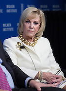 Elaine Wynn, National Chairman, Communities In Schools; President, Nevada State Board of Education, in a panel during the Milken Institute Global Conference on Monday, April 28, 2014 in Beverly Hills, California. (Photo by Ringo Chiu/PHOTOFORMULA.com)