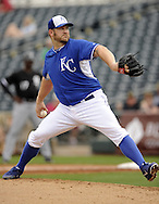 SURPRISE, AZ - MARCH 06:  Brad Penny #53 of the Kansas City Royals pitches against the Chicago White Sox on March 6, 2014 at The Ballpark in Surprise in Surprise, Arizona. (Photo by Ron Vesely)   Subject: Brad Penny