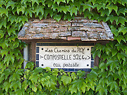 The ivy covered wall advertised the accommodation nearby as well as the distance remaining to Santiago de Compostela - 924km. There was also drinking water available.