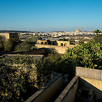 View From Sannat of Xewkija;<br />