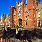 Hampton Court Palace..London, England.