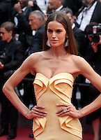 Izabel Goulart at the Closing ceremony and premiere of La Glace Et Le Ciel at the 68th Cannes Film Festival, Sunday 24th May 2015, Cannes, France.
