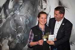 Van Laar Louise (BEL)<br /> VLP Social Media Award 2013<br /> Vlaanderens Kerstjumping Mechelen 2013<br /> © Dirk Caremans