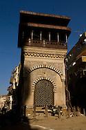 Egypt . Cairo : Sabil/Kuttab of al Amir Abdul Rahman Katkhuda in Al Mu'izz li din Allah street islamic Cairo  NM21