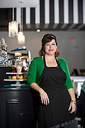 Editorial photography of chef Tammy Varney, owner of Meridienne Bakery in Bentonville, Arkansas.