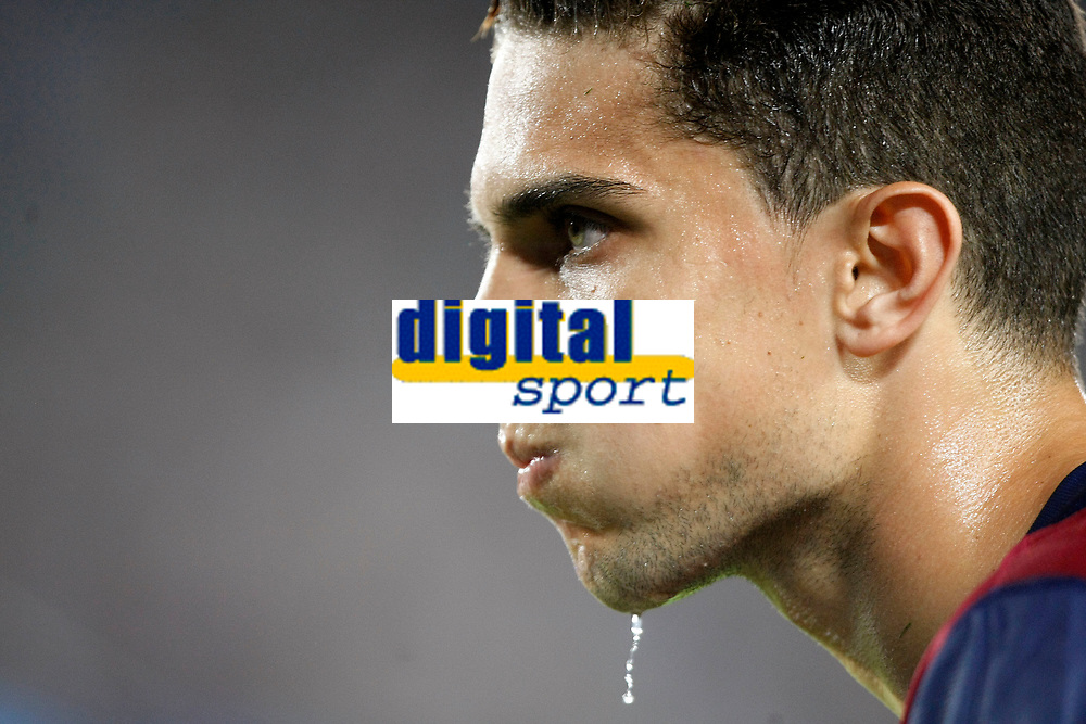 Marc Bartra of Barcelona during the UEFA Champions League, Group F, football match between FC Barcelona and Apoel FC on September 17, 2014 at Camp Nou stadium in Barcelona, Spain. Photo Bagu Blanco / DPPI