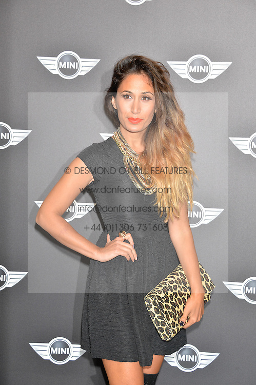 Monday 18th November 2013 saw a host of London hipsters, social faces and celebrities, gather together for the much-anticipated World Premiere of the brand new MINI.<br /> Attendees were among the very first in the world to see and experience the new MINI, exclusively revealed to guests during the party. Taking place in the iconic London venue of the Old Sorting Office, 21-31 New Oxford Street, London guests enjoyed a DJ set from Little Dragon, before enjoying an exciting live performance from British band Fenech-Soler.<br /> Picture Shows:-PREEYA KALIDAS