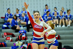 2015 cheerleading competition at Preston High