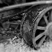 Decay Of The Machine - Pottsville - Merlin, Oregon - Lensbaby - Infrared Black & White