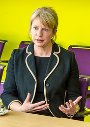 Pictured: Shona Robison<br /> <br /> Under pressure Health Secretary Shona Robison visited the Healthy Living Centre in Edinburgh's Wester Hailes today and annnounced details of funding for nurse training to expand community care. <br /> <br /> Ger Harley   EEm 30 April 2018