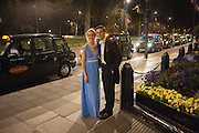 LUCIE SHUTTLEWOOD; EDWARD MAJOR, The Royal Caledonian Ball 2013. The Great Room, Grosvenor House. Park lane. London. 3 May 2013.