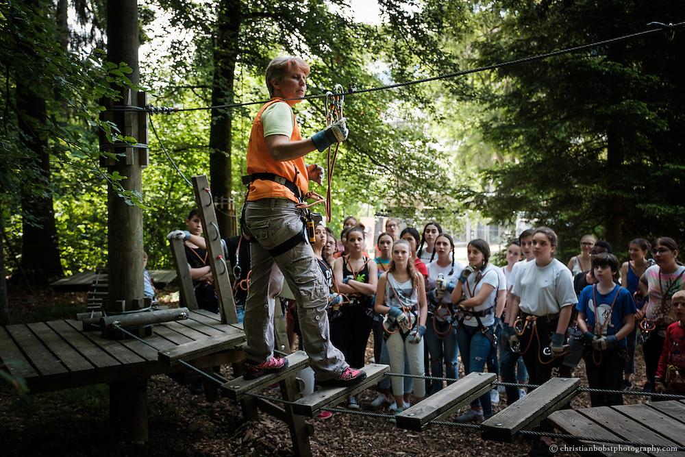 Seilpark Kloten, Sommer, Sport, Schulklassen