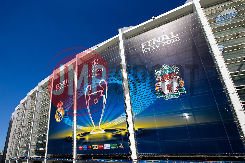 A general view of The Olympic Stadium in Kiev ahead of Real Madrid v Liverpool ahead of The Champions League Final - Mandatory by-line: Robbie Stephenson/JMP - 26/05/2018 - FOOTBALL - Olympic Stadium - Kiev,  - Real Madrid v Liverpool - UEFA Champions League Final
