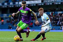 Jamie Paterson of Bristol City takes on Harrison Reed of Blackburn Rovers - Mandatory by-line: Robbie Stephenson/JMP - 09/02/2019 - FOOTBALL - Ewood Park - Blackburn, England - Blackburn Rovers v Bristol City - Sky Bet Championship
