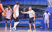 DESCRIZIONE : Qualificazioni EuroBasket 2015 - Allenamento <br /> GIOCATORE : Luca Dalmonte<br /> CATEGORIA : nazionale maschile senior A <br /> GARA : Qualificazioni EuroBasket 2015 - Allenamento<br /> DATA : 12/08/2014 <br /> AUTORE : Agenzia Ciamillo-Castoria