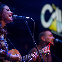 Chelsea Williams of The Salty Suites plays at The Cave in Big Bear Lake, Friday, March, 10, 2017. (EricReedPhoto.com)