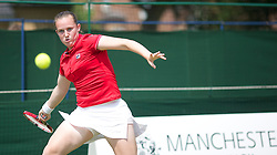 MANCHESTER, ENGLAND: Chloe Murphy (GBR) on Day 5 of the Manchester Masters Tennis Tournament at the Northern Tennis Club. (Pic by David Tickle/Propaganda)