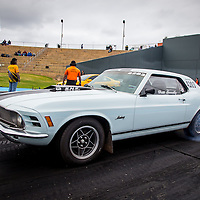 Brett Connelly (4203) in his Super Street Ford Mustang.