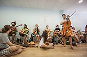 On international musical workshops with Ethno Catalonia - Spain