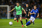 AFC Wimbledon midfielder Callum Reilly (33) during the EFL Sky Bet League 1 match between Ipswich Town and AFC Wimbledon at Portman Road, Ipswich, England on 20 August 2019.