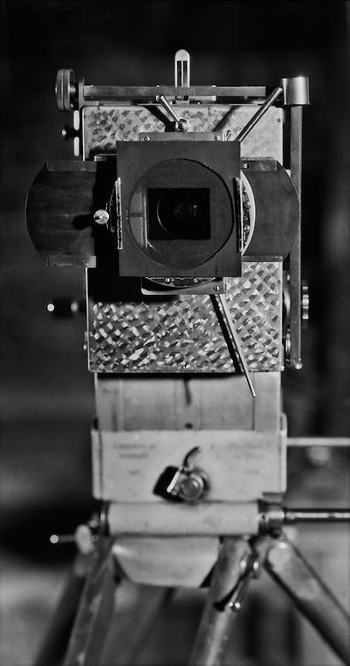 35mm Movie Camera Close-up, UFa Studios, Potsdam-Babelsberg, 1928
