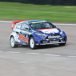 Reinis Nitiss. World Rallycross Media Day at Lydden Hill Race Circuit, Kent (c) Matt Bristow | SportPix.org.uk